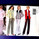 Butterick Pattern # 6266 UNCUT Misses Vest Jacket Pants Size 14 16 18