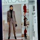 McCalls Pattern # 2923 UNCUT Misses Wardrobe Lined Jacket Skirt Pants Size 12 14 16