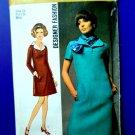 Simplicity Patten # 8446 UNCUT Dress Vintage 1969 Size 14 Bust 36
