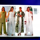 Butterick Pattern # 5586 UNCUT Misses Duster Dress Top Tunic Pants Size 12 14 16