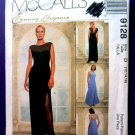McCalls Pattern # 9128 UNCUT Misses Gown Size 12 14 16