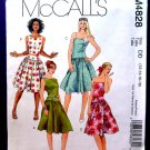 McCalls Pattern # 4828 Misses Summer Dress Size 12 14 16 18