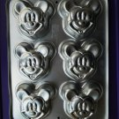 Wilton Cake Pan Mini Mickey Mouse Mold 1995 HTF #2105-3600
