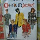 Simplicity Pattern # 7964 UNCUT Misses Jacket Size 12 14 16 18