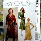 McCalls Pattern # 5178 UNCUT Misses A-Line Dress Size 14 16 18 20