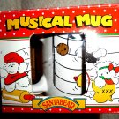 Santa Bear Musical Mug In Box Vintage 1991 Still Plays Songs!