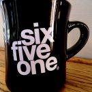 Area Code 651 Black Coffee Mug  St Paul MN Minnesota