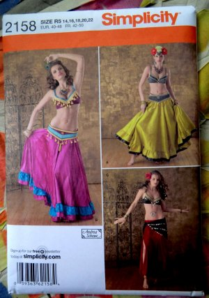 Patterns For Belly Dance Costumes Skirts - MultiMania - Free