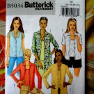 Butterick Pattern # 5034 UNCUT Misses Shirt / Tank Top Size 16 18 20 22