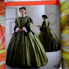 Simplicity Pattern # 2887 UNCUT Misses Civil War Dress Size 16 18 20 22 24
