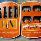 Wilton Cookie Mold  Set Halloween Fingers Fangs NEW!