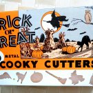 Halloween Cookie Cutter Retro Vintage