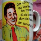 SNL Coffee Mug Saturday Night Live Vintage 1991 Rob Schneider Richmeister