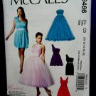 McCalls Pattern # 6466 UNCUT Misses Special Occasion Dress Size 10 12 14 16 18