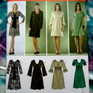 Simplicity Pattern # 3622 UNCUT Pull-Over Dress Variations STRETCH KNITS Size 12 14 16 18 20