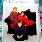 McCalls Pattern # 9580 UNCUT Snuggie Couch Cozy Lounge WearAll Sizes