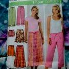 Simplicity Pattern # 4548 UNCUT Pants Skirt Size 14 16 18 20 22