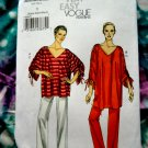 Vogue Pattern # 8698 UNCUT Misses Tunic Pants STRETCH KNITS Size XS Small Medium
