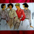 Very Easy Vogue Pattern # 9816 UNCUT Misses Blouse Size 16 ½