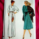 Vogue Pattern # 7200 UNCUT Misses Long Short Dress Size 18 ½