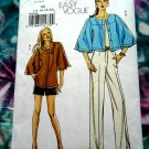 Vogue Pattern # 8404 UNCUT Jacket Pants Shorts Size 14 16 18 20