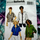 Butterick Pattern # 5648 UNCUT Misses Jacket Size 8 10 12 14 16