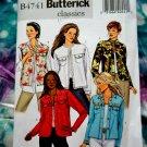 Butterick Pattern # 4741 UNCUT Misses Unlined Jacket Size 8 10 12 14