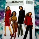 Butterick Pattern # 5259 UNCUT Misses Wardrobe Jacket Dress Pants Size 16 18 20 22 24
