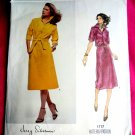 Vogue Pattern # 1717 UNCUT Leather/Suede Dress Size 16 Silverman