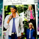 McCalls Pattern # 4385 UNCUT Misses Jean Jacket Size 10 12 14 16