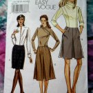 Vogue Pattern # 8424 UNCUT Easy Skirt Size 16 18 20 22 24
