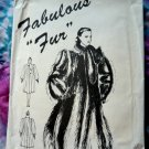Fabulous Faux Fur Coat UNCUT Pattern Size 8 10 12 14 16
