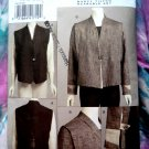 Vogue Pattern # 8399 UNCUT Vest Jacket by March Tilton Size 14 16 18 20