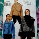 Vogue Pattern # 8625 UNCUT Misses Jacket Set Scarf / Collar Size Large XL