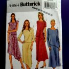 Butterick Pattern# 4064 UNCUT Misses Top Skirt Asymmetrical Size 20 22 24