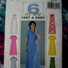Butterick Pattern # 4181 UNCUT Misses Dress Size 20 22 24