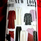 New Look Pattern # 6818 UNCUT Womans KNIT Wardrobe Top Jacket Pants Dress Size 18 20 22 24 26