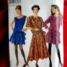New Look Pattern # 6948 UNCUT Misses Dress Short Long Skirt Size 8 10 12 14 16 18