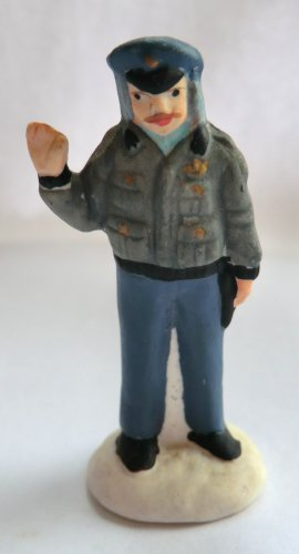 It's A WONDERFUL LIFE Target Bert the COP Policeman Bedford Falls Figurine