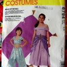 McCall's Pattern # 6794 UNCUT Girls Costume Fairy Princess, Bride, Arabian, Genie Size 2 4