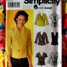 Simplicity Pattern # 7082 UNCUT Misses Easy Wrap Tops Blouses Size 14 16 18 20
