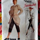 Rare Vogue Pattern # 2010 UNCUT Misses Jacket Pants Top Size 16