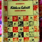 Rare Vintage 1943 Sunset&#39;s Kitchen Cabinet Cookbook