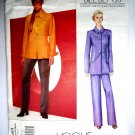 Vogue Pattern # 2463 UNCUT Misses Jacket Pants Bill Blass Size 8 10 12 American Designer