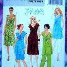 Butterick Pattern #5196 UNCUT Maternity Wardrobe Top Dress Shorts Pants Size 8 10 12 14