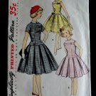 Vintage Simplicity Pattern # 1496 Girls Dress Chest 30 inches