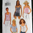 Butterick Pattern # 3389 UNCUT Misses Summer Top Size 12 14 16