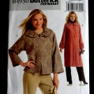Butterick Pattern # 4930 UNCUT Misses Lined Jacket Coat Size XS Small Medium