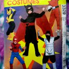 McCalls Costume Pattern # 3329 UNCUT Boys Girls Size 3 4 5 6 Super Hero Costumes