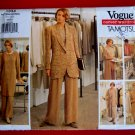 Vogue Pattern # 1334 UNCUT Misses Wardrobe Tunic Pants Top Skirt Size 6 8 10 Tamotsu